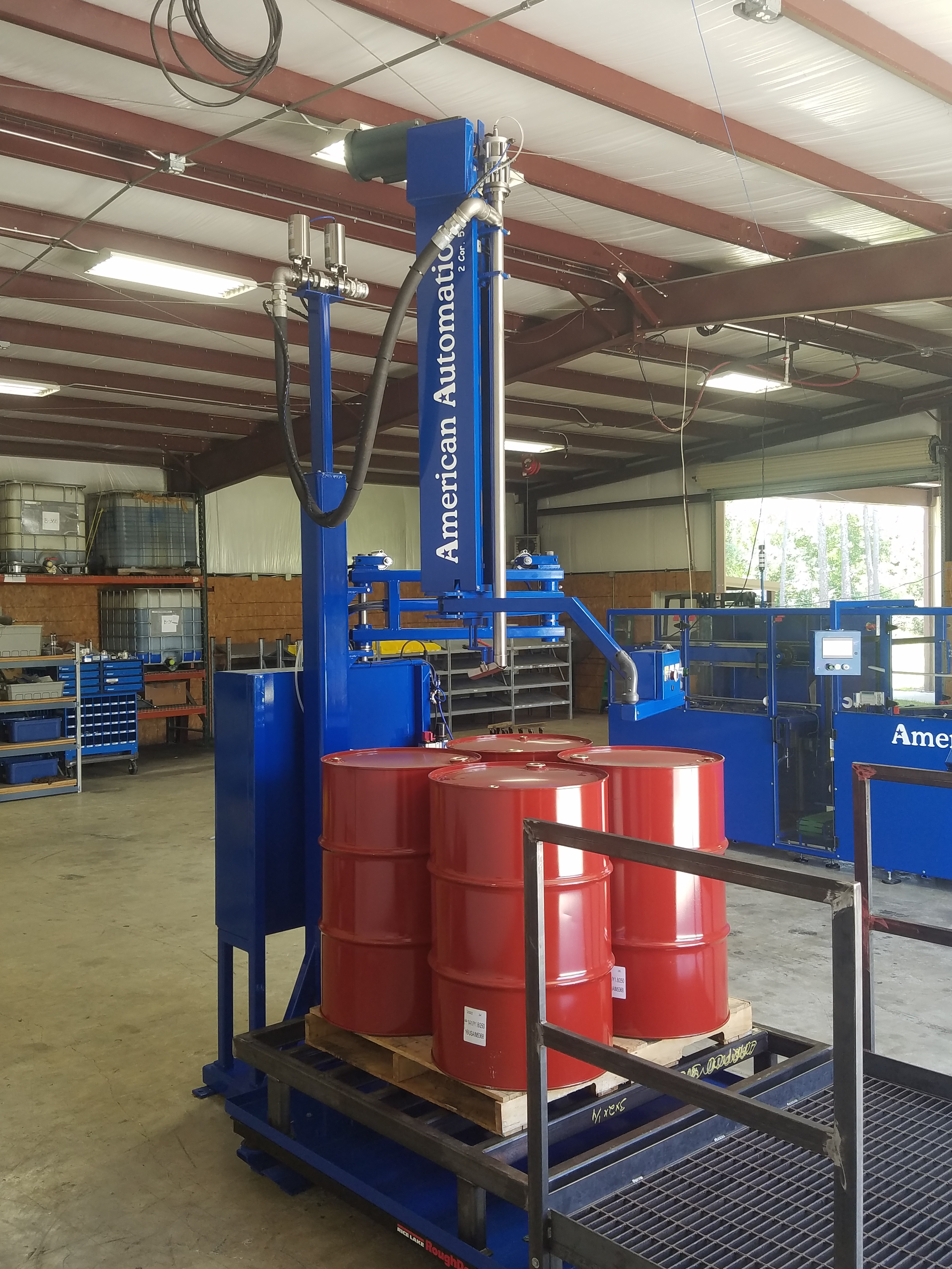Drum Tote Filler American Automation Amp Industrial